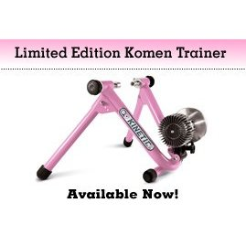 Kinetic By Kurt Limited Edition Road Machine Fluid Indoor Bicycle Trainer - Pink - T-002P